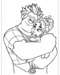 Wreck-It Ralph Coloring Page for your Little Ones