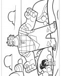Wreck-It Ralph Сoloring pages for girls
