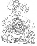 Wreck-It Ralph Printable coloring pages for girls
