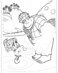 Wreck-It Ralph Free Tracing Coloring Page