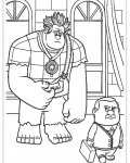 Wreck-It Ralph Free Coloring Pages