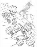 Wreck-It Ralph Coloring Pages for Kids