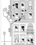 Wreck-It Ralph Free coloring pages for boys
